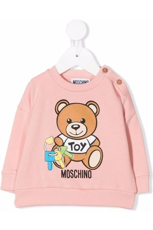 Moschino Teddy bear logo-print sweatshirt