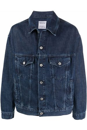 Marcelo Burlon County of Milan Tempura cross-print denim jacket