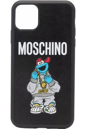 Moschino Women Phones Cases - Logo-print Iphone 11 Pro max case
