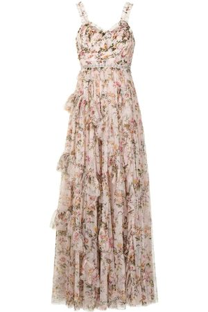 Needle & Thread Floral maxi dress