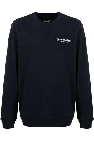True Religion Logo-print cotton jumper
