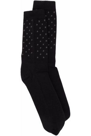 Golden Goose Socks - Star-print logo socks