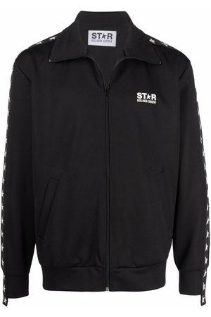 Golden Goose Logo-print zip-fastening jacket