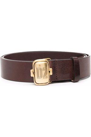 Dsquared2 Logo engraved-buckle belt