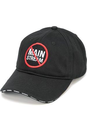 VETEMENTS Slogan-print cotton cap