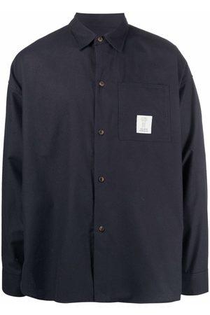 SOCIÉTÉ ANONYME Logo-patch long-sleeve shirt