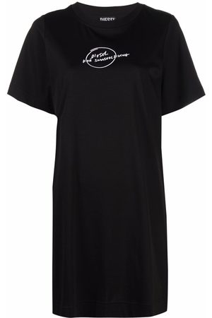 Diesel Logo print T-shirt dress