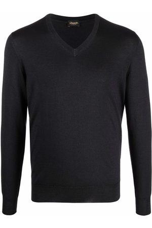 DRUMOHR V-neck fine-knit jumper