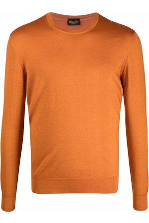 DRUMOHR Crew-neck fine-knit jumper