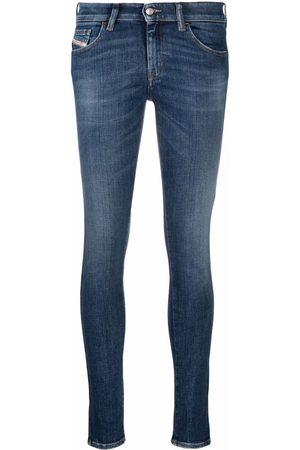 Diesel Women Skinny - Slandy low-rise skinny jeans