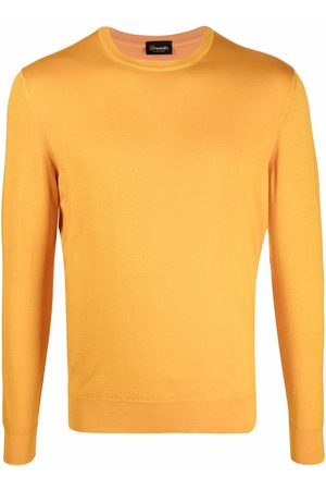 DRUMOHR Men Sweatshirts - Crew-neck fine-knit jumper