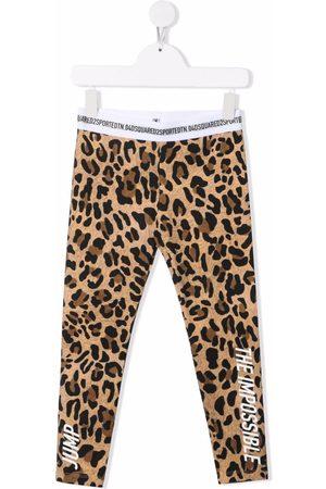 Dsquared2 Kids Leopard print leggings
