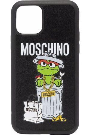 Moschino Women Phones Cases - Logo-print Iphone 11 Pro case