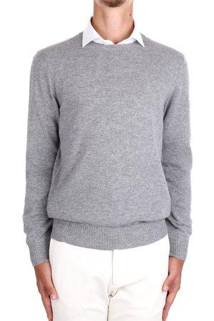DRUMOHR Choker Men Grey Cashmere