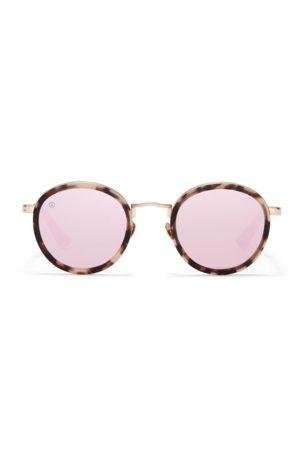 Taylor Morris Women Round - Matte Pale Rose Round ZERO Sunglasses