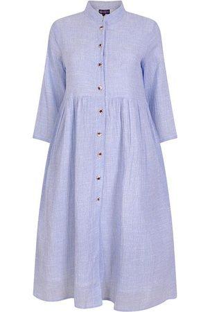 Dream Fashion Women Tunic Dresses - Cotton Tunic Dress Pale