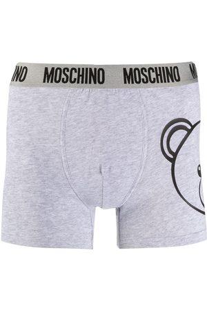 Moschino MEN'S A472481120489 GREY COTTON BOXER