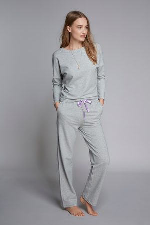 Lavender Hill Clothing Women Sweats - Tencel Cotton Lounge Trousers