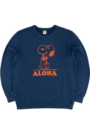TSPTR Aloha Snoopy Crew Sweat - Navy