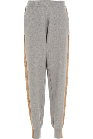 Stella McCartney WOMEN'S 603016SMP841262 GREY OTHER MATERIALS JOGGERS