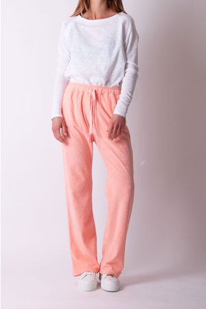 JUMPER 1234 1234 - Terry Wide Leg Towelling Joggers in Neon