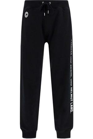 Helmut Lang Men Sweatpants - MEN'S L01DM203YVM COTTON JOGGERS