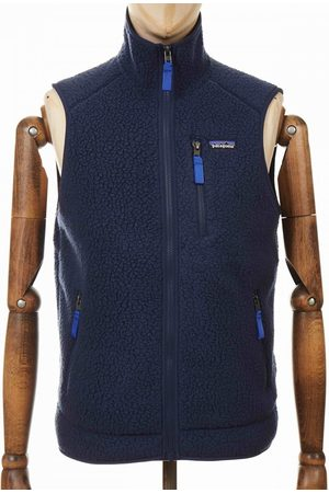 Patagonia Retro Pile Fleece Vest - New Navy Colour: New Navy