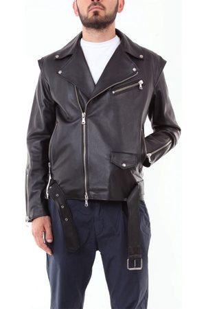 OMC Clothing Men Leather Jackets - MEN'S MENJACKPELLENERO LEATHER OUTERWEAR JACKET