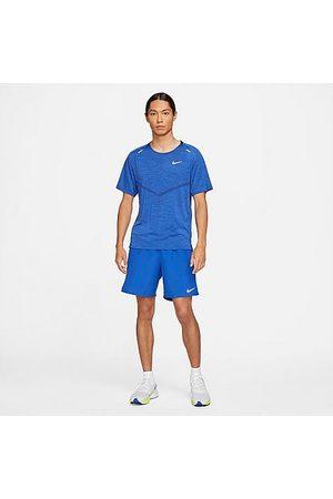 Nike Men's Challenger 2-in-1 Shorts in /Game Royal Size Medium 100% Polyester/Fiber