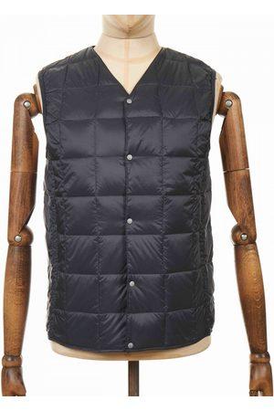 TAION Button Down Vest - Charcoal