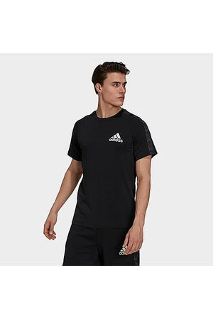 adidas Men's Designed 2 Move Sport Motion Logo T-Shirt in / Size Small Cotton/Polyester/Jersey