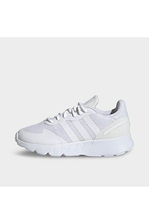 adidas Little Kids' Originals ZX 1K BOOST Casual Shoes in / Size 1.0 Suede