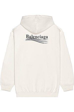 Balenciaga Medium Fit Hoodie in Grey