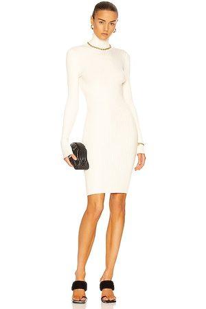 Wolford Merino Rib Dress in Ivory