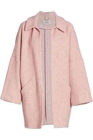 Rachel Comey Women's Husk Chevron Wool-Blend Coat - - Size 14