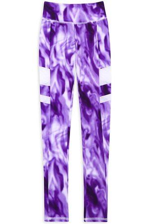 Marchesa Notte Boys Neckties - Little Girl's & Girl's Remi Tie-Dye Leggings - - Size 12