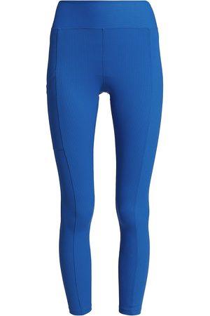 YEAR OF OURS Women Leggings - Women's Walker Ribbed Pocket Leggings - New - Size Large
