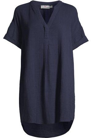 Vineyard Vines Women Tunic Dresses - Women's Easy Tunic Dress - Deep Bay - Size XS