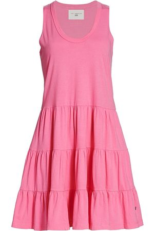 SOL ANGELES Tiered Flared Dress