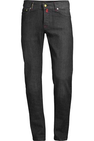 Kiton Men Straight - Men's Straight Leg Jeans - Dark Grey - Size 32
