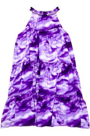 Marchesa Notte Girls Halterneck Dresses - Little Girl's & Girl's Charlotte Tie-Dye Halter Dress - - Size 10