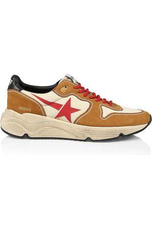 Golden Goose Men Running - Men's Running Sole Sneakers - Creamy Cognac - Size 12