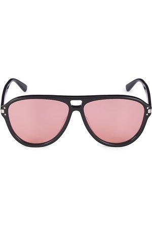 AMIRI Men Aviators - Men's 63MM Aviator Logo Sunglasses