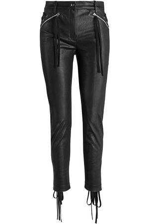 UNTTLD Women's FW21 El Topo Faux Leather Pants - - Size 6