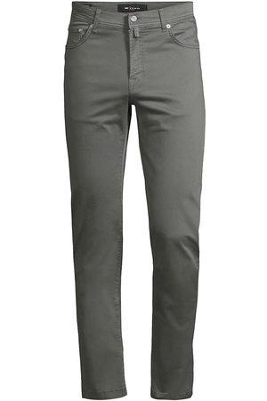 Kiton Men's Straight-Leg Five-Pocket Pants - Grey - Size 34