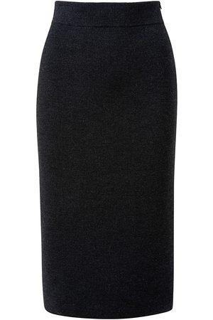 AKRIS Women's Stretch Wool Pencil Midi-Skirt - Graphite - Size 12