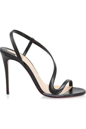 Christian Louboutin Women's Rosalie Leather Slingback Sandals - - Size 10.5