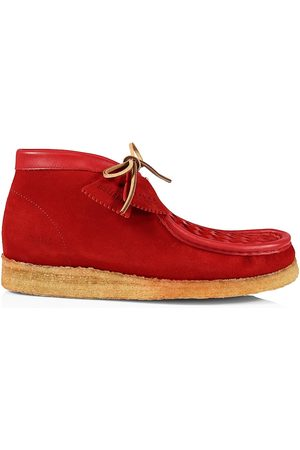 Clarks Men Shoes - Men's Suede Woven Wallabee Shoes - Woven - Size 13