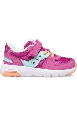 Saucony Kids Sneakers - Jazz Lite 2.0 Sneaker FuchsiaTurq