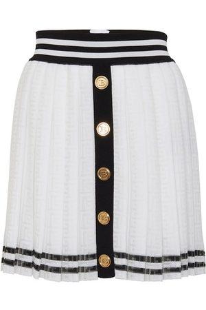 Balmain Mini pleated skirt